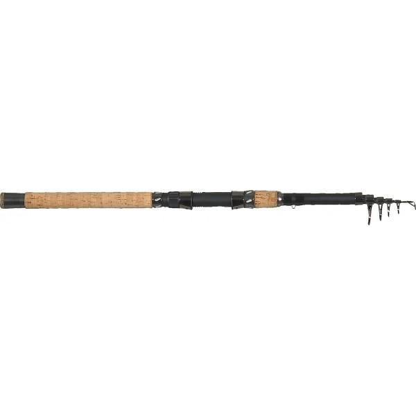 Rybářský prut Saenger Pro – T Black Tele Travel Varianta 1,95m