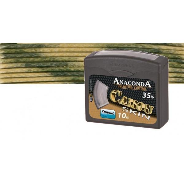 Anaconda pletená šňůra Camou Skin Nosnost 25lb