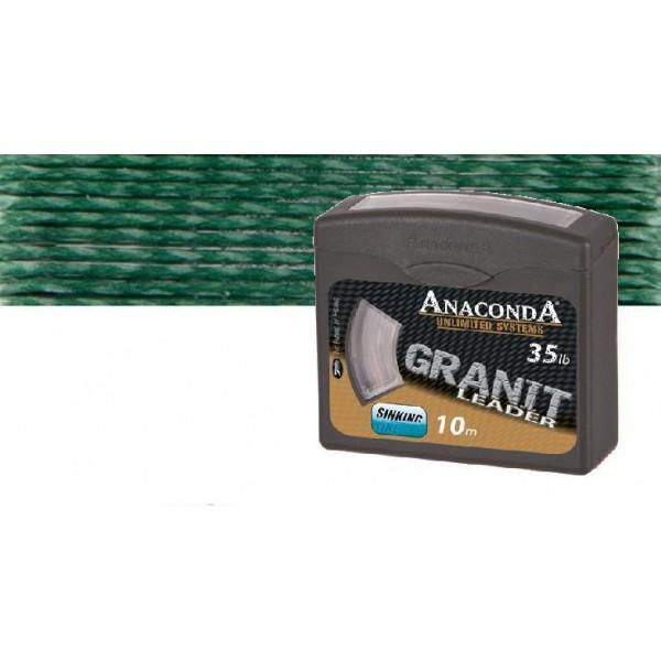 Anaconda pletená šňůra Granit Nosnost 25lb