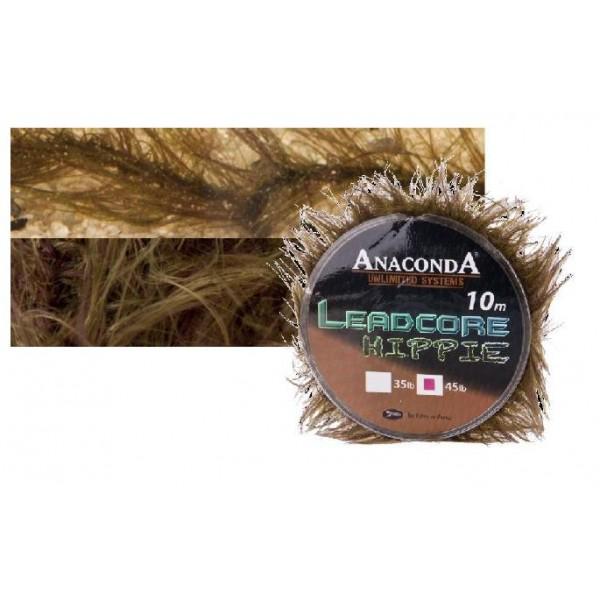 Anaconda pletená šňůra Hippie Leadcore Nosnost 35lb