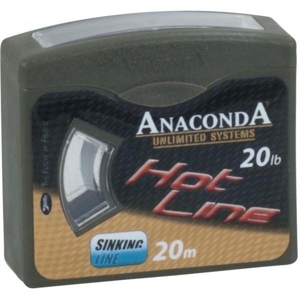 Anaconda pletená šňůra Hot Line Nosnost 20lb