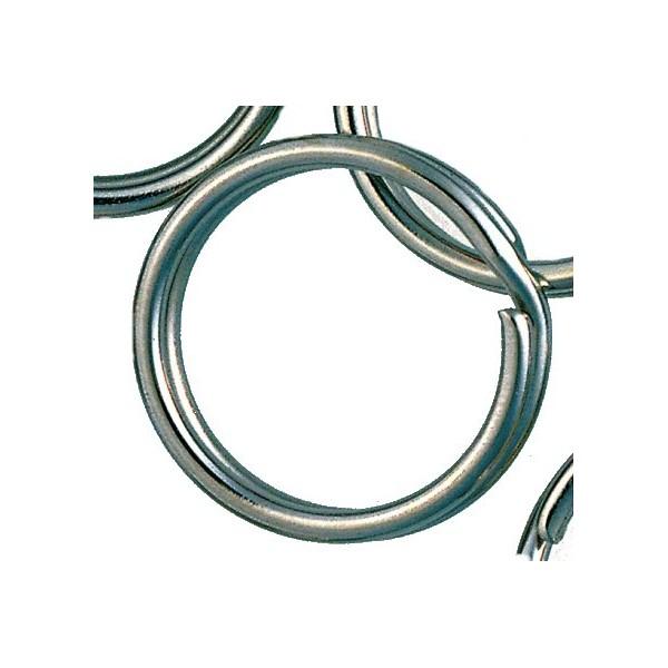 Iron Claw pojistný, ocelový kroužek, velikost 5 mm, 10ks/bal