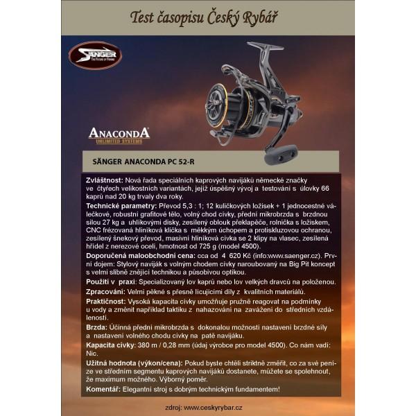 Kaprový navijak Anaconda PC 52-R 10000