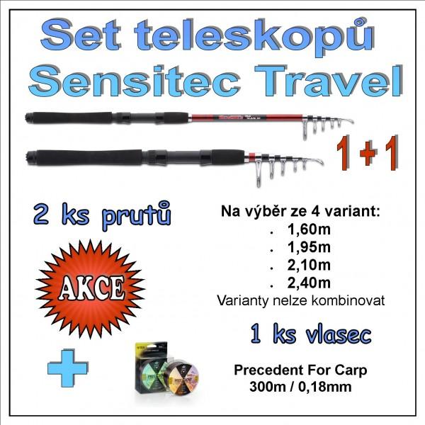 Set teleskopů Sensitec Travel 1 + 1 Varianta 2,40m
