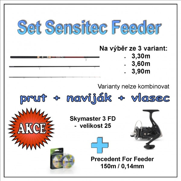 Set Sensitec Feeder Varianta 3,90m