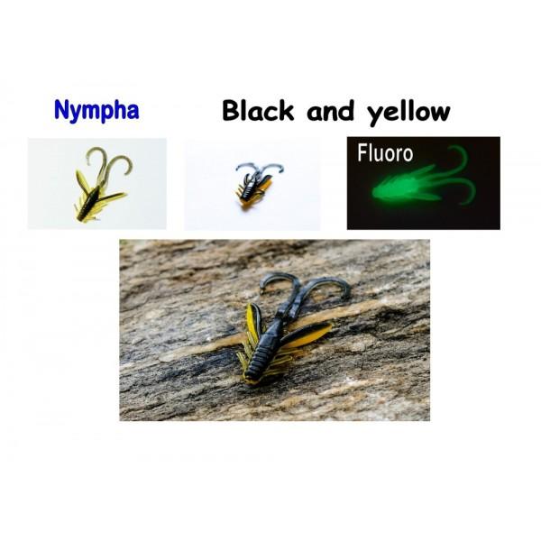 Nympha, 40 mm, 0,9 g Varianta: White