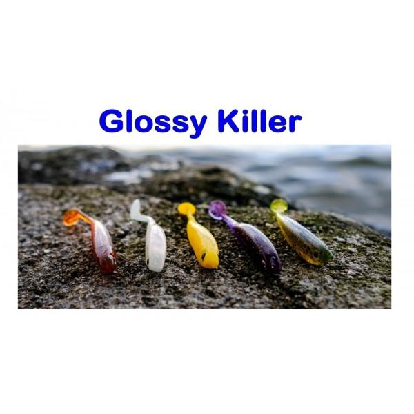 Glossy Killer, 75mm, 3,0g Varianta: White pearl
