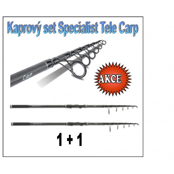 Kaprový set Specialist Tele Carp Model 3,60m / 2,75lb