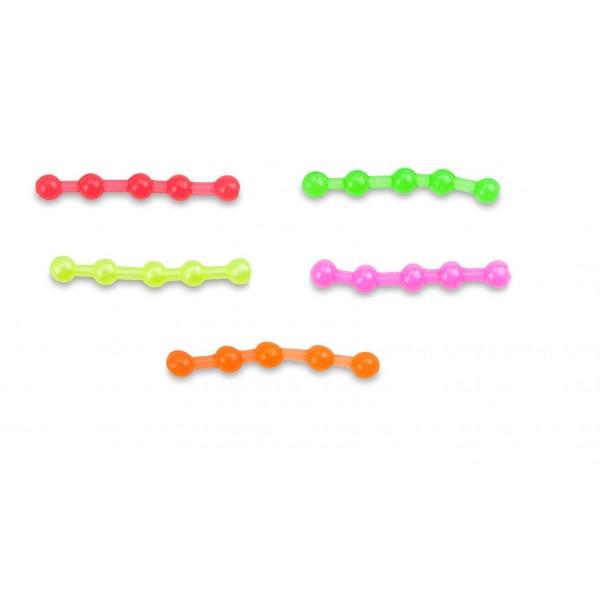 Umělé nástrahy MS Range Easy Hook Boilie / Easy Hook Pellet 6mm Barva zelená