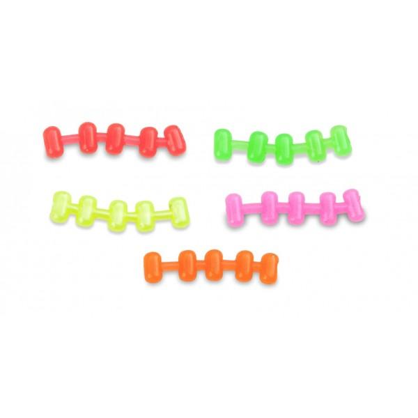 Umělé nástrahy MS Range Easy Hook Boilie / Easy Hook Pellet  4 x 7 mm Barva zelená