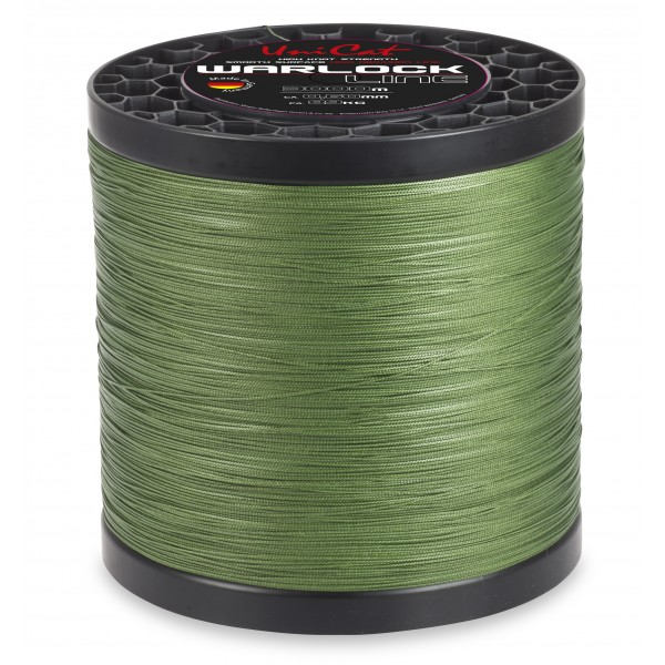 Pletenka Uni Cat Warlock Line 5000 m tmavě zelená průměr: 0,55 mm
