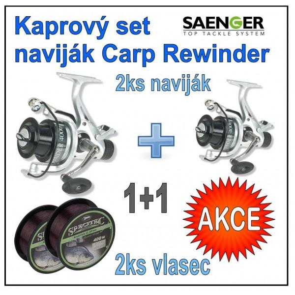 Saenger - Kaprový set naviják Saenger Carp Rewinder : 60