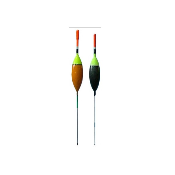Splávky pro lov na tekoucí vodě - Balení 3 ks hmotnost: 0,4g