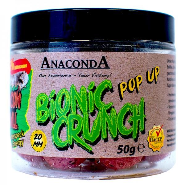 Pop up boilie Anaconda Bionic Crunch 50g Příchuť Lady Shot