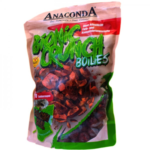 Boilies Anaconda Bionic Crunch Boilies 1kg 20 mm - Garlic Bomb
