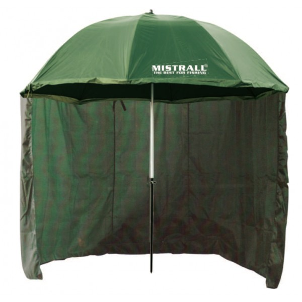 Mistrall deštník s bočnicem PVC 6 SHALTER obvod 250 cm