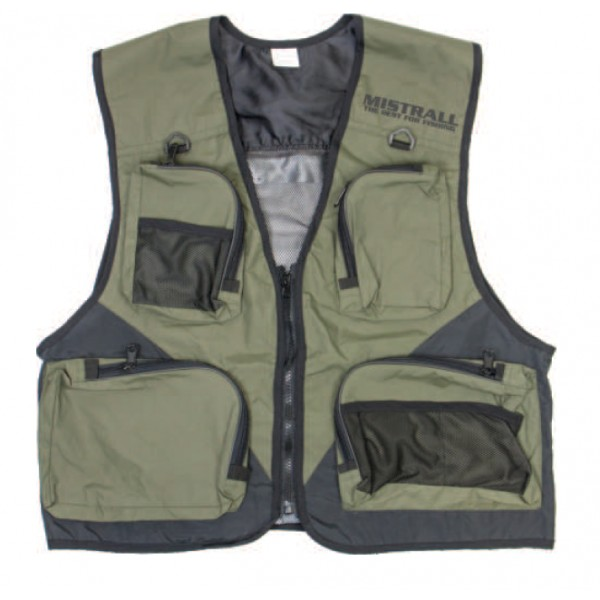 Mistrall rybářská vesta X2 Velikost M