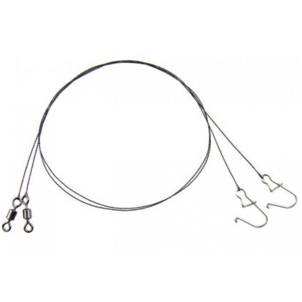 Mistrall wolframové lanko pro lov dravců varianta: 15 cm/2,5 kg, 2ks/bal