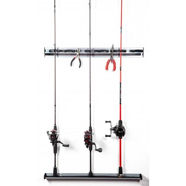 Saenger - Organizér Iron Claw Wall Rod & Tool Organizer varianta: základní deska