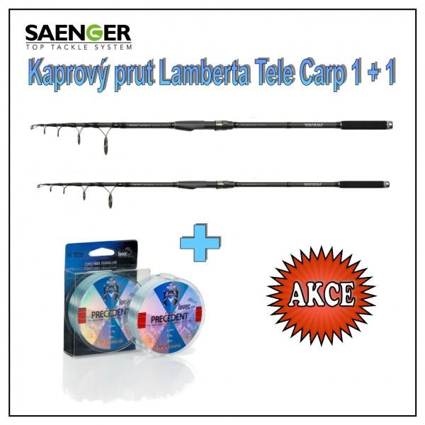 Mistrall kaprový prut Lamberta Tele Carp 1 + 1