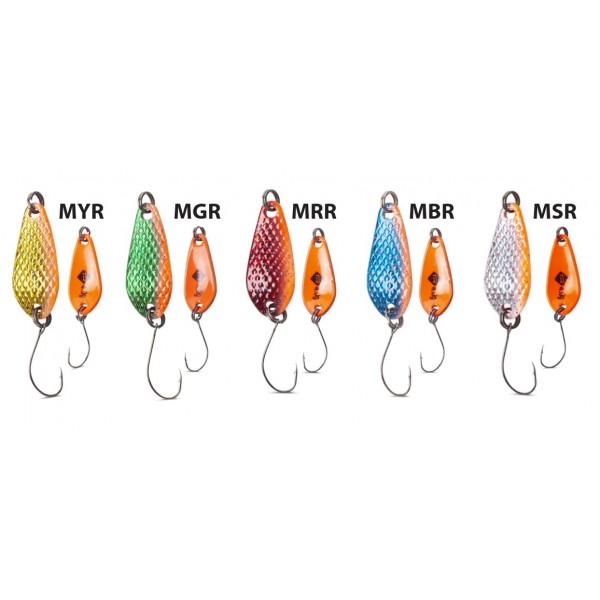 Třpytka Iron Trout Deep Spoon Vzor MBR
