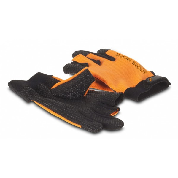 Rukavice Iron Trout Hexagripper Glove, vel. M