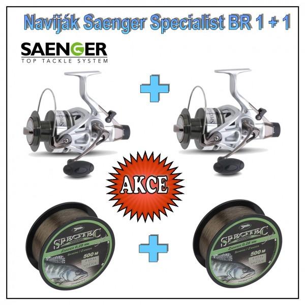 Naviják Saenger Specialist BR 1 + 1 : 7000