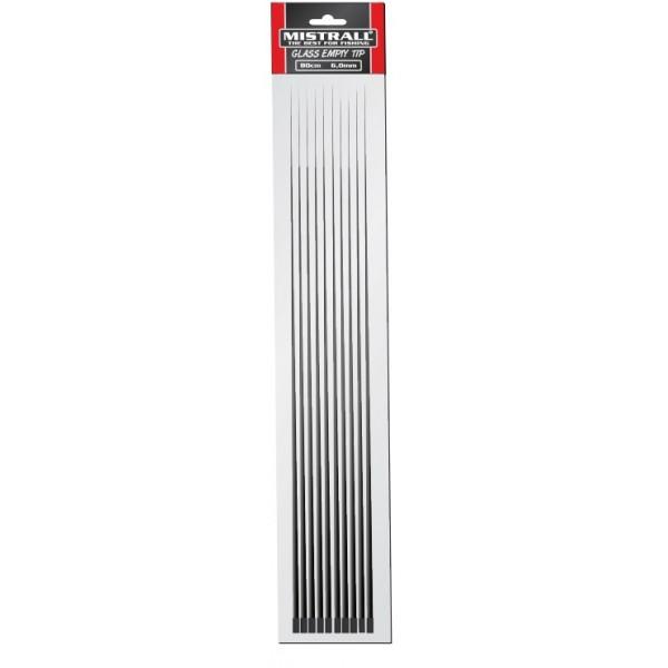 Mistrall - Mistrall Náhradní uhlíkové špičky bez oček, průměr 6 mm 10ks/bal