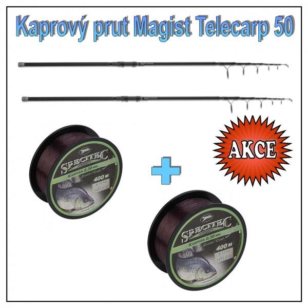 Kaprový teleskop Anaconda Magist Telecarp s 50 mm očkem Model 3,90m / 3,5lb