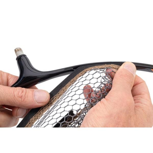Podběráková hlava se síťkami MS Range Quick Change Zip Head 40 cm Možnost 5mm nano síť