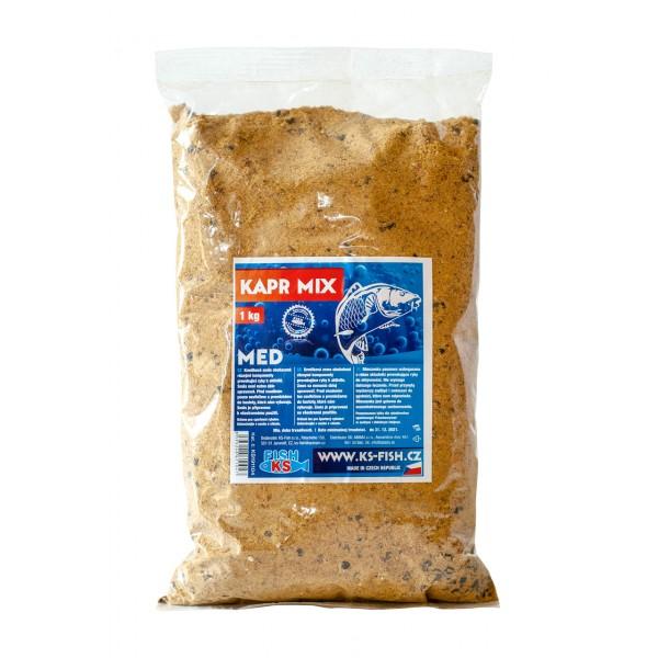 Kapr mix 1 kg, med