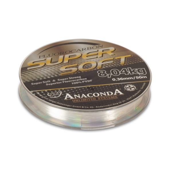 ANACONDA Super Soft Fluorocarbon 50m/ 0,40mm